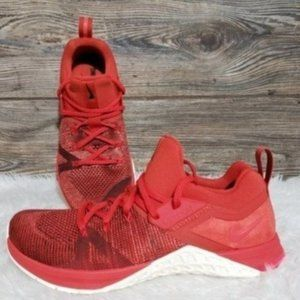 New Nike Metcon Flyknit Mystic Red Training Shoes